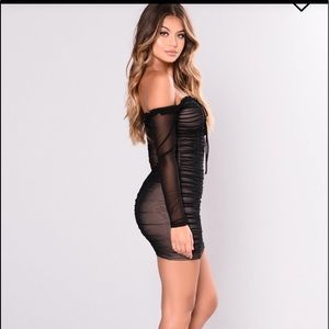 5ec241de006 Fashion Nova Dresses - Fashion Nova Maura Mesh Dress✨ 3X!